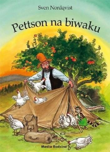 Okładka książki Pettson na biwaku