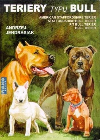 Okładka książki Teriery typu bull