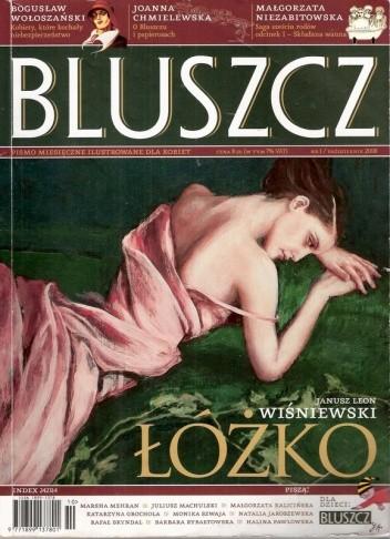 Okładka książki Bluszcz, nr 1 / październik 2008