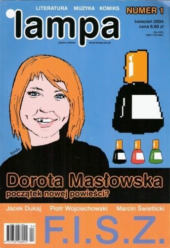 Okładka książki Lampa, nr 1 / kwiecień 2004