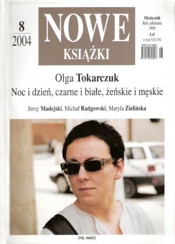 Okładka książki Nowe Książki, nr 8 / 2004