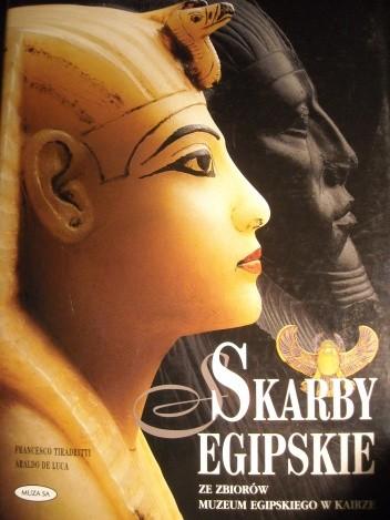 Okładka książki Skarby Egipskie
