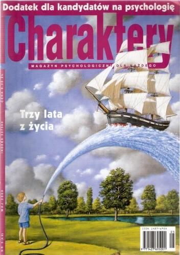 Okładka książki Charaktery, nr 5 (40) / maj 2000