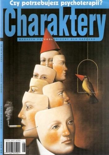 Okładka książki Charaktery, nr 6 (41) / czerwiec 2000