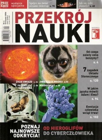 Okładka książki Przekrój Nauki, nr 4 / wrzesień 2006