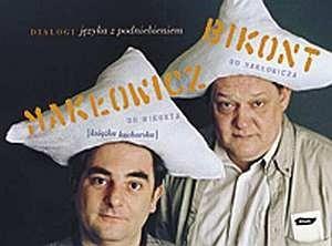 Okładka książki Dialogi języka z podniebieniem. Książka kucharska