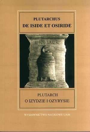 Okładka książki De Iside et Osiride = O Izydzie i Ozyrysie
