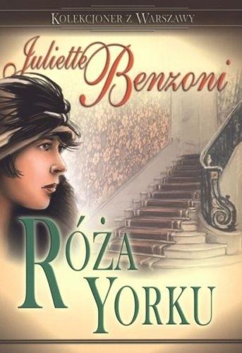Okładka książki Róża Yorku