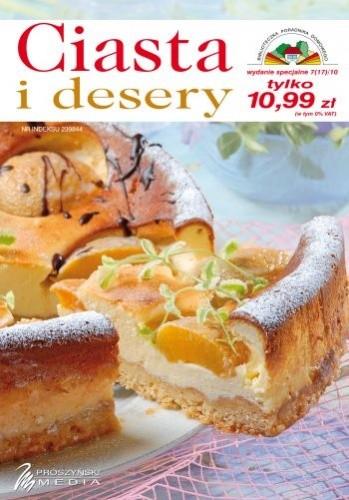 Okładka książki Ciasta i desery