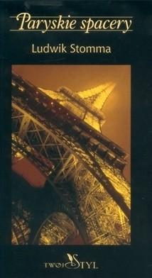 Okładka książki Paryskie spacery