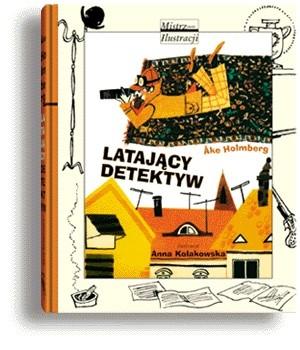 Okładka książki Latający detektyw