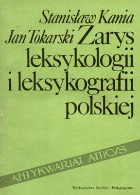 Okładka książki Zarys leksykologii i leksykografii polskiej