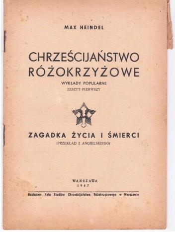 Okładka książki Zagadka życia i śmierci