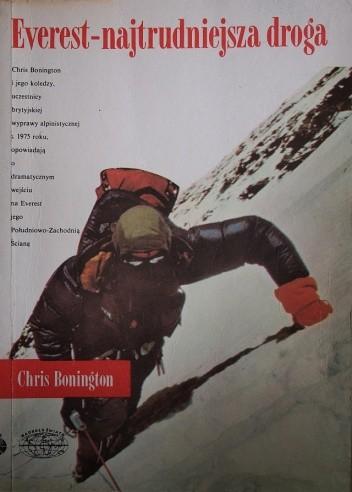Okładka książki Everest - najtrudniejsza droga