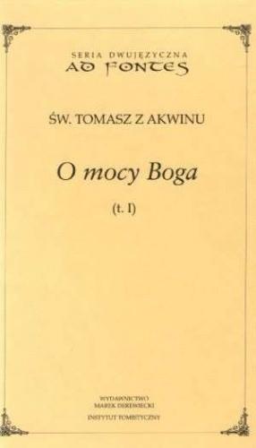 Okładka książki O mocy Boga t.1