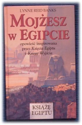 Okładka książki Mojżesz w Egipcie