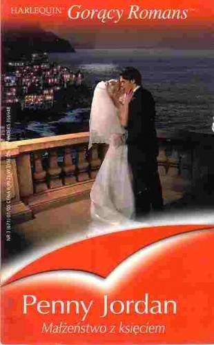 Okładka książki Małżeństwo z księciem