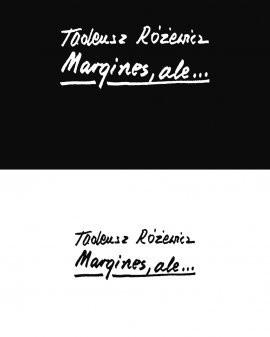 Okładka książki Margines, ale...