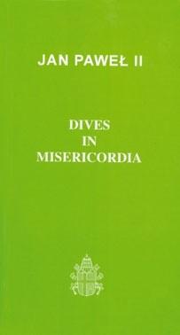 Okładka książki Dives in misericordia