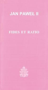 Okładka książki Fides et ratio