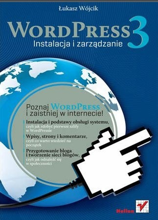 Okładka książki WordPress 3. Instalacja i zarządzanie