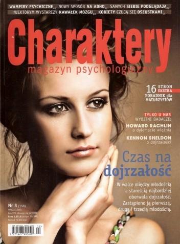 Okładka książki Charaktery, nr 3 (158) / marzec 2010