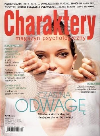 Okładka książki Charaktery, nr 9 (164) / wrzesień 2010
