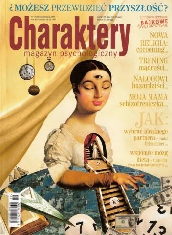 Okładka książki Charaktery, nr 12 (155) / grudzień 2009