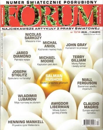 Okładka książki Forum, nr 13-14 (2327-2328) / 29.03-11.04.2010