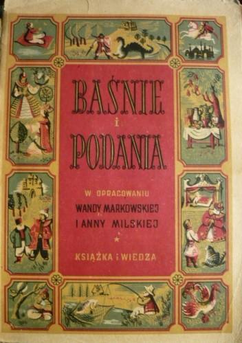 Okładka książki Baśnie i podania