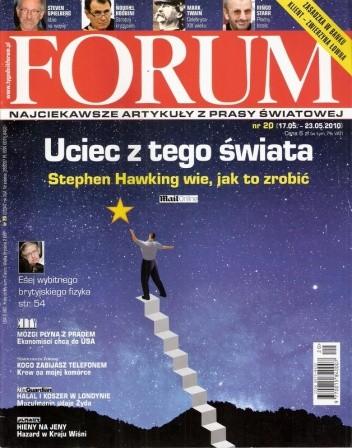Okładka książki Forum, nr 20 (2334) / 17.05-23.05.2010