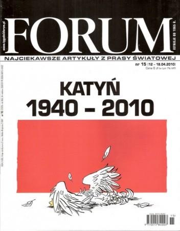 Okładka książki Forum, nr 15 (2329) / 12.04-18.04.2010