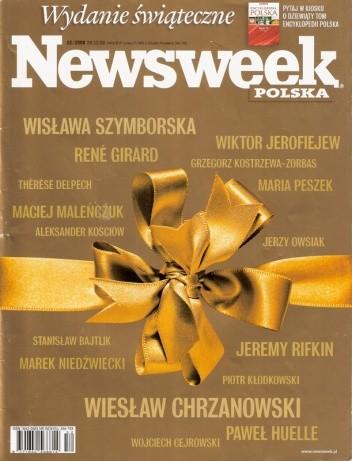 Okładka książki Newsweek, nr 52/2008