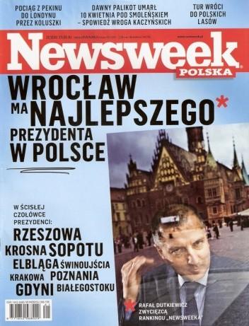 Okładka książki Newsweek  21/2010