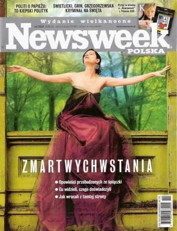 Okładka książki Newsweek 14/2010