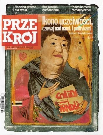 Okładka książki Przekrój, nr 36 (3402) / 7.09.2010