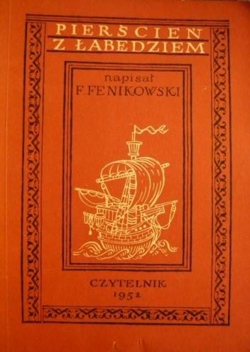 Okładka książki Pierścień z łabędziem