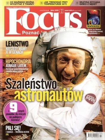 Okładka książki Focus, nr 7 (166) / lipiec 2009