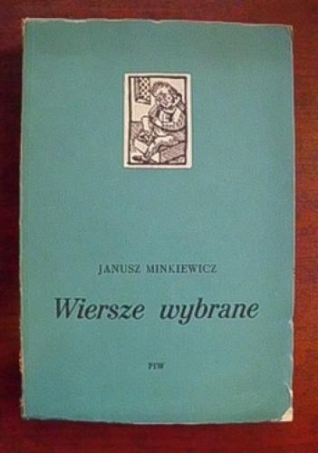 Okładka książki Wiersze wybrane 1944-1954