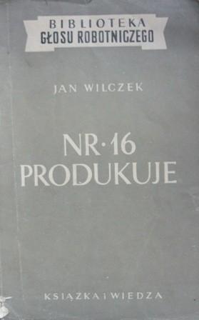 Okładka książki Nr. 16 produkuje
