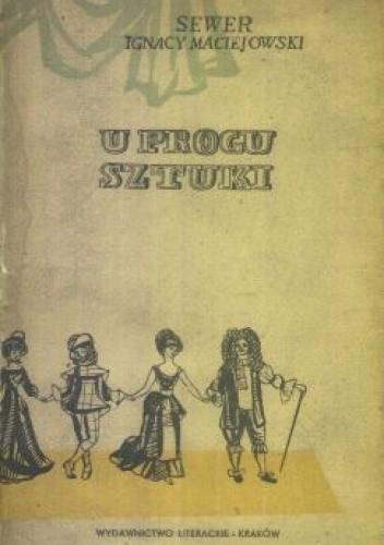 Okładka książki U progu sztuki. Powieść