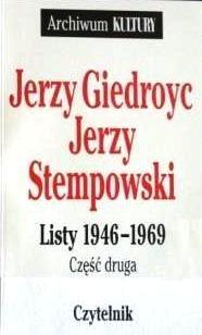 Okładka książki Listy 1946-1969. Cz. 2