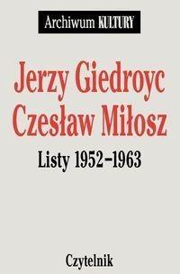 Okładka książki Listy 1952-1963