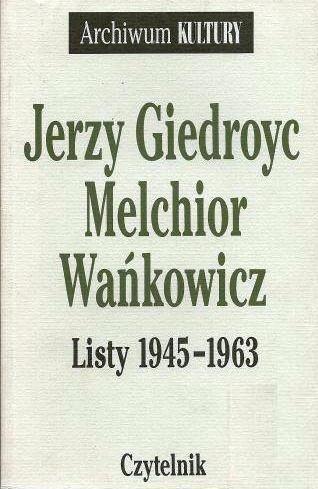 Okładka książki Listy 1945-63