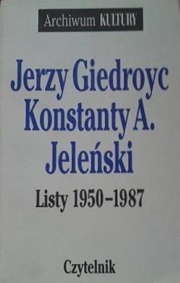 Okładka książki Listy 1950-1987