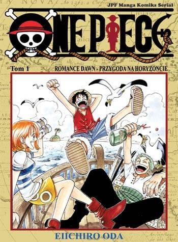 Okładka książki One Piece t. 1 - Romance Dawn - Przygoda na Horyzoncie