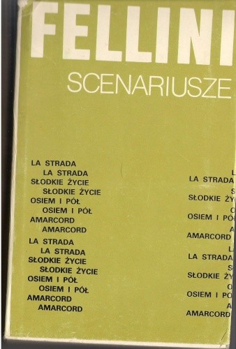 Okładka książki Scenariusze