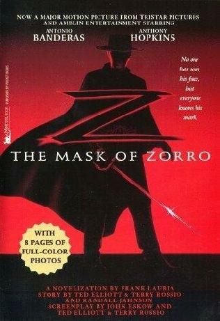 Okładka książki The Mask of Zorro
