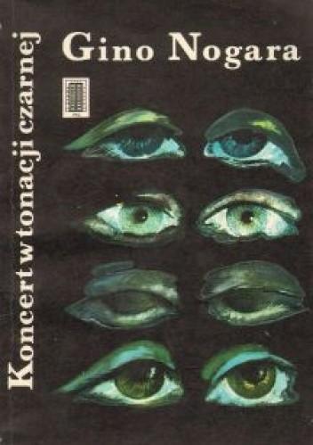 Okładka książki Koncert w tonacji czarnej