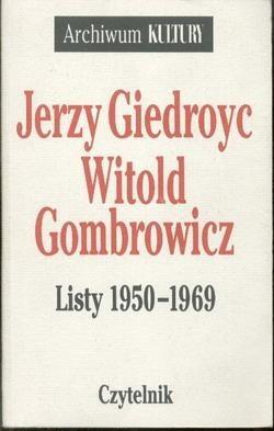 Okładka książki Listy 1950-1969